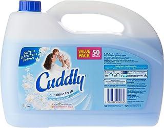 Cuddly Fabric Softener Conditioner Sunshine Fresh 50 Washes Value Pack 5L