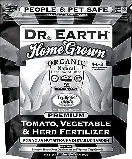 Dr. Earth Home Grown Tomato, Vegetable & Herb Fertilizer 4lb