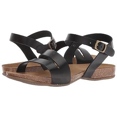 Cordani Manero Sandal (Black Leather) Women