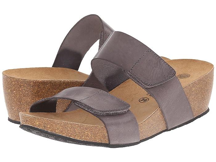 Eric Michael  Liat (Grey) Womens Dress Zip Boots