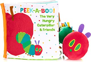 Kids Preferred World of Eric Carle, The Very Hungry Caterpillar Soft Book and Stuffed Plush Toy