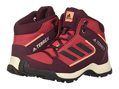 adidas Outdoor Kids Hyperhiker (Little Kid/Big Kid) (Active Maroon/Black/Semi Coral) Kids Shoes