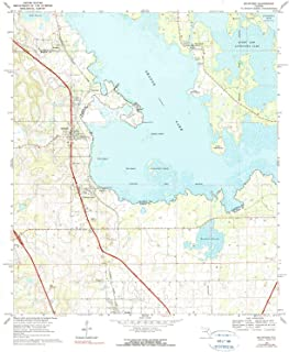YellowMaps McIntosh FL topo map, 1:24000 Scale, 7.5 X 7.5 Minute, Historical, 1968, Updated 1990, 26.8 x 22 in