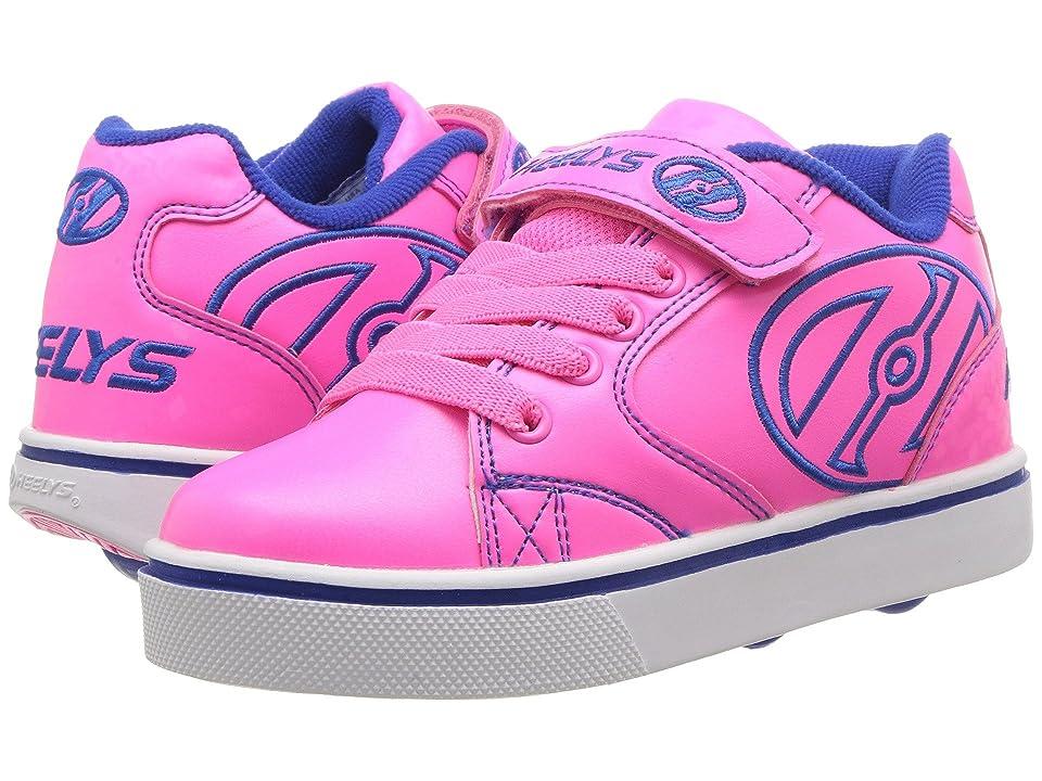 Heelys Vopel X2 (Little Kid/Big Kid) (Neon Pink/Blue) Girls Shoes