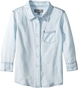 "Olivia Shirt with ""Brunch Crew"" On Collar (Toddler/Little Kids)"