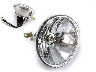 Vespa Piaggio PX 125/150 / 200 Headlight Including Halogen Bulb - Emarked