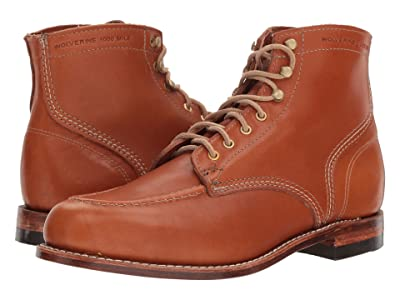 Wolverine Heritage 1000 Mile 1940 Boot (Tan Leather) Men