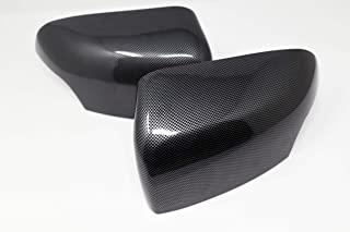 1 Pair Wing Mirror Cover Left /& Right for 220i 328i 420i F20 F21 F22 F30 F32 F33 F36 Plastic Wing Mirror Cover default polished black