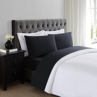 Truly Soft Sheet Sets for Everyday Use Black Twin Sheet