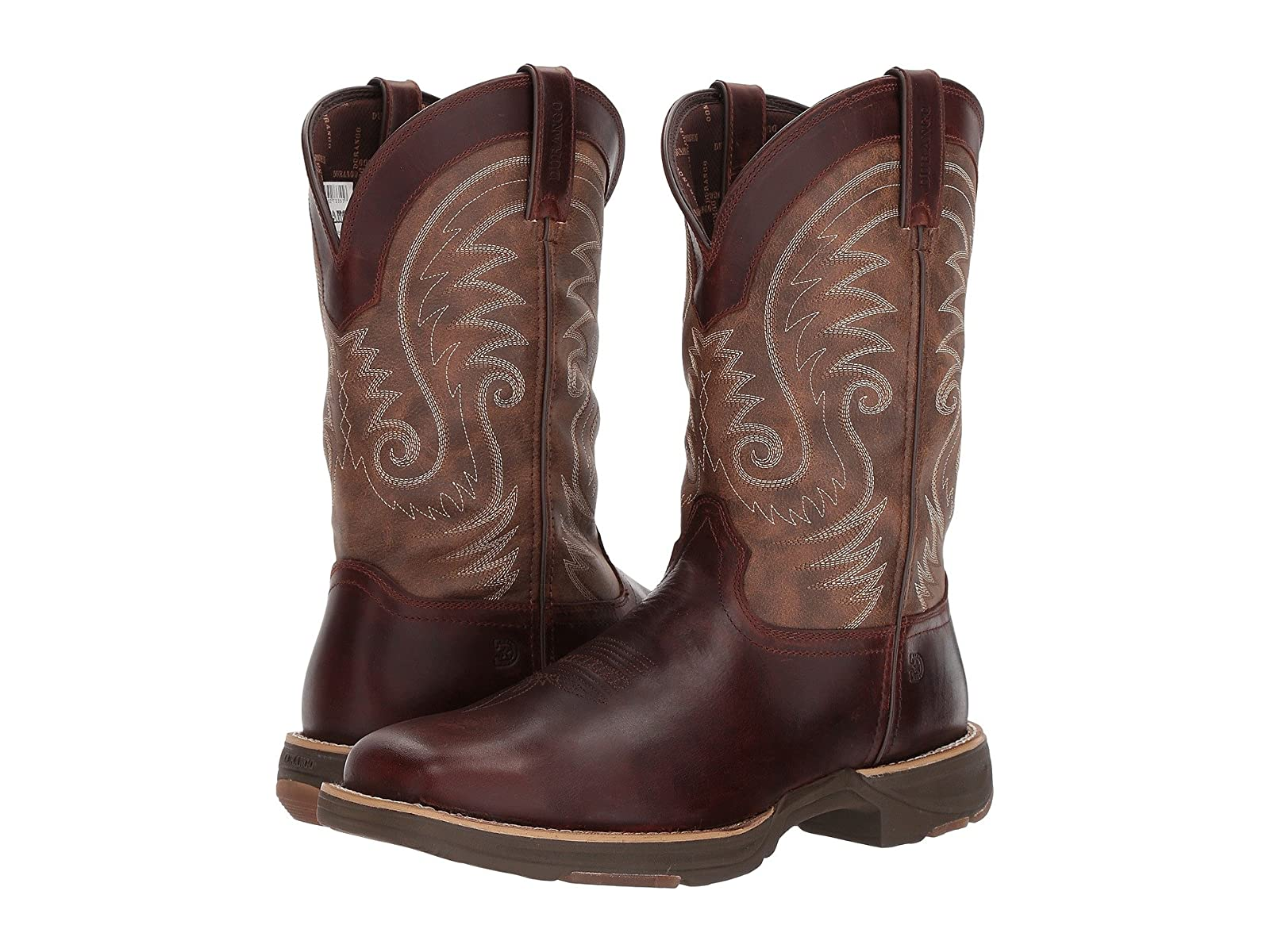 "Durango Ultralite 12"" Western WP Square ToeAffordable and distinctive shoes"