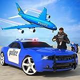 policía coche avión transportista: simulador de crimen real disparos de gángsters y conducción de camiones