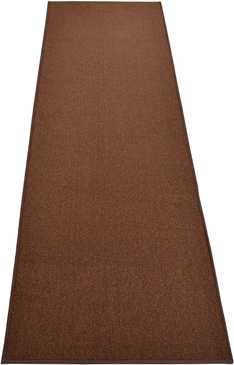 Custom Size Solid Brown Roll Runner 26 Direct sale of manufacturer x in Your Cho Many popular brands Wide Length