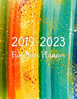 2019-2023 Five Year Planner: Monthly Schedule Organizer - Agenda Planner For The Next Five Years, 60 Months Calendar, Appointment Notebook, Monthly ... Year Monthly Calendar Planner) (Volume 2)
