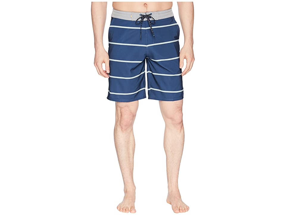 Quiksilver Waterman Liberty Overboard Boardshorts (Dark Denim) Men