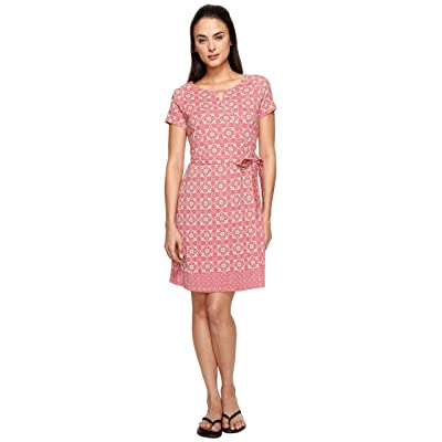 Aventura Clothing Garland Dress (Cardinal) Women
