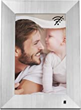 NIX Lux 10-Inch Digital Photo Frame X10J Metal (Non-WiFi) - Wall-Mountable Digital Frame with 1280x800 HD IPS Display, Motion Sensor, USB and SD Card Slots and Remote Control, 8 GB USB Stick Included