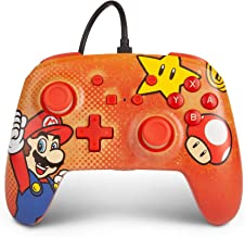 PowerA Enhanced Wired Controller for Nintendo Switch - Mario Vintage, Gamepad, Wired Video Game Controller, Gaming Control...