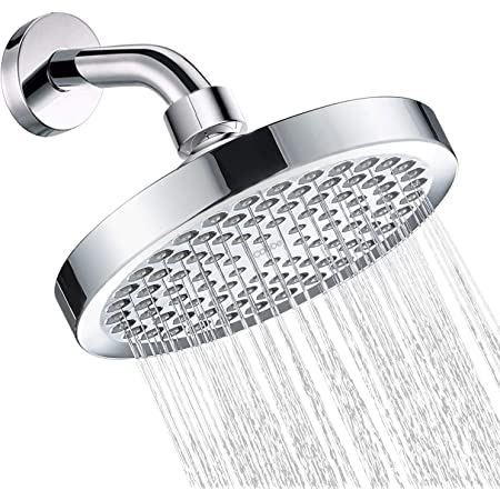 Cobbe Handheld Shower Head 3.5 5 Settings High Pressure Shower Head with 78 Stainless Steel Hose