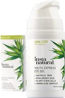 Eye Gel Cream - Wrinkle, Dark Circle, Fine Line & Redness Reducer - Pure & Organic Anti Aging Blend for Men & Women with H...