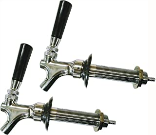 HomeBrewStuff Chrome Draft Beer Faucet and 4 1/2