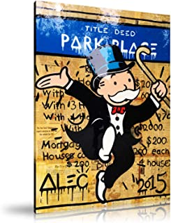 ALEC Monopoly HD Printed Oil Paintings Home Wall Decor Art On Canvas Park Place 24x36inch Unframed