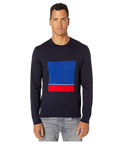 Paul Smith Box Knitted Sweater (Navy) Men