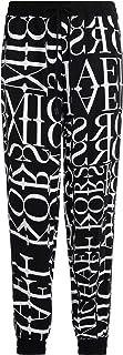 Michael Kors Woman's Pantalone Logato Colore Bianco E Nero