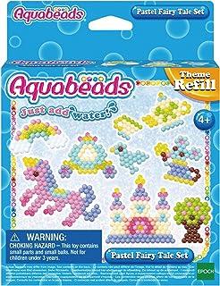 Aquabeads - La Recharge Conte de Fées Pastel - 31632 - Recharge Thématique - Loisirs Créatifs