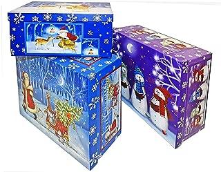 Alef Elegant Decorative Holiday Themed Nesting Gift Boxes - 11