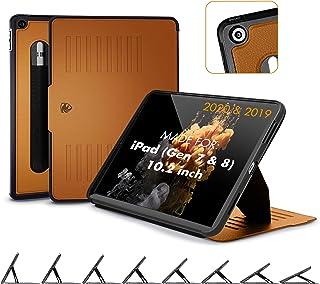 ZUGU CASE (2020/2019) Etui Muse do iPada 7. / 8. generacji 10,2 cala ochronne, cienki, magnetyczny stojak, osłona do snu/b...