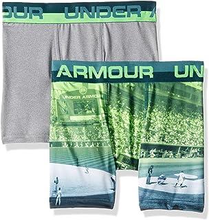 Under Armour Boys' 2 Pack Sublimation Print Performance Boxer Briefs