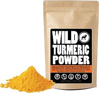 Raw Turmeric Powder Made from Naturally Grown Turmeric, Fair Trade, Single-Origin Bulk Ground Turmeric Root Powder (8 ounce)