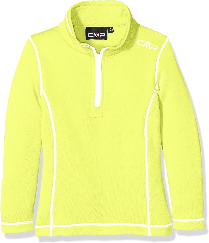 (176, Acacia)  CMP Girl's Turtle Neck Fleece Sweater, Girls, Fleece Rolli Funktionsshirt