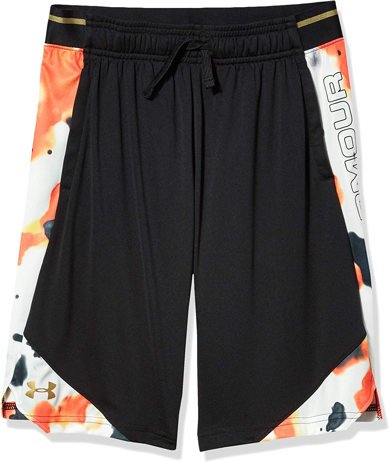 Under Armour Boys' Top Step Stunt Gym Workout Shorts