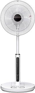 日立 扇風機 風量4段階 8枚羽根 やさしい微風(うちわ風) 減灯&消音 HEF-130M