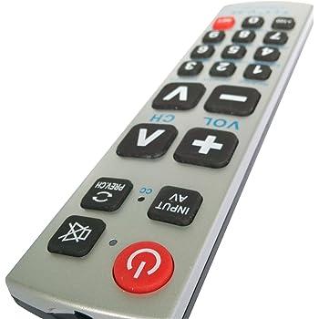 Gmatrix u43 Big Button Universal Remote Control - Retail Packaging