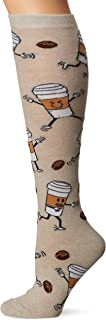 K. Bell Women's Food & Drink Novelty Casual Knee High Socks