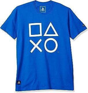 Camiseta Playstation Classic Symbols, Banana Geek, Adulto Unissex