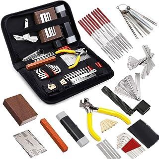 45 Pieces Complete Guitar Repairing Maintenance Tool...