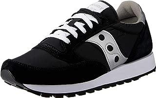 Saucony Originals Men's Jazz Sneaker,Black/Silver,8 M