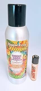 Smoke Odor Eliminator and Exterminator Spray 7oz (Hippie Love, 7oz)