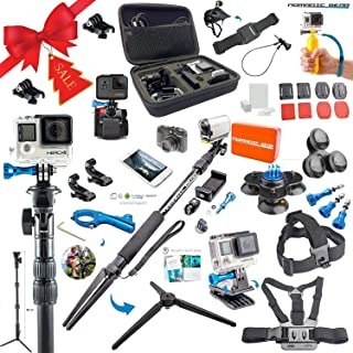 Nomadic Gear 55-in-1 Action Camera Accessories Kit for GoPro, Sony Action Camera, Garmin, Ricoh Action Cam, SJCAM, iPhone and Android   Epic Photo Shooting 101 ebook