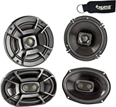"""$166 » Polk Audio - A Pair of DB652 6.5"""" Coaxial and A Pair of DB692 6x9 Speakers - Bundle Includes 2 Pair"""