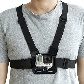 mobilegear Adjustable Body Chest Strap Belt Mount for Action Cameras