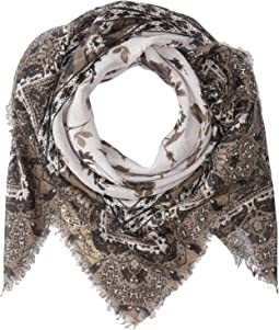 Falling For Florals Square Scarf