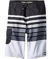 All Day OG Stripe Boardshorts (Big Kids)