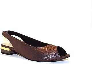 Hype Women's Peep Toe Slingback Ethnic Sandal ZD10726 (Camilla)