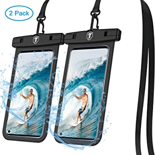 Tiflook Waterproof Phone Case,2019 Underwater Protective Cellphone Dry Bag Pouch Fit for Moto Z4 Z3 Play/G7 G6 G5 E5 Play/G6 G5S Plus/G6 Forge/E5Plus/X4/One Vision,up to 6.5