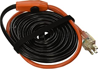 Frost King HC24A Automatic Electric Heat Cable Kits, 24ft x 120V x 7 Watts/ft, 24 Feet, Black