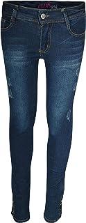 dELiAs Girls Soft Stretch Skinny Distressed Jeans